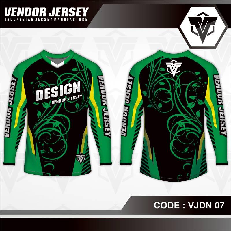Desain Jersey Sepeda Gunung Code VJDN 07