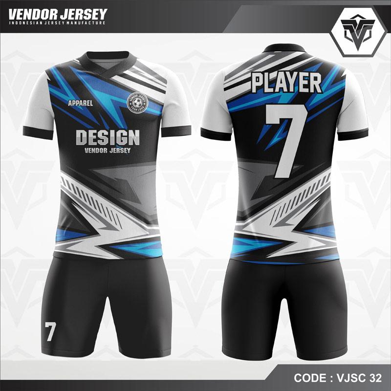 Kostum Futsal Printing Keren Modern VJSC 32
