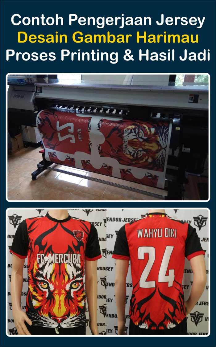 Pembuatan Seragam Fans Klub United Indonesia Di Ransiki