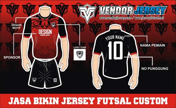 Membuat Kombinasi Warna Jersey Futsal Custom